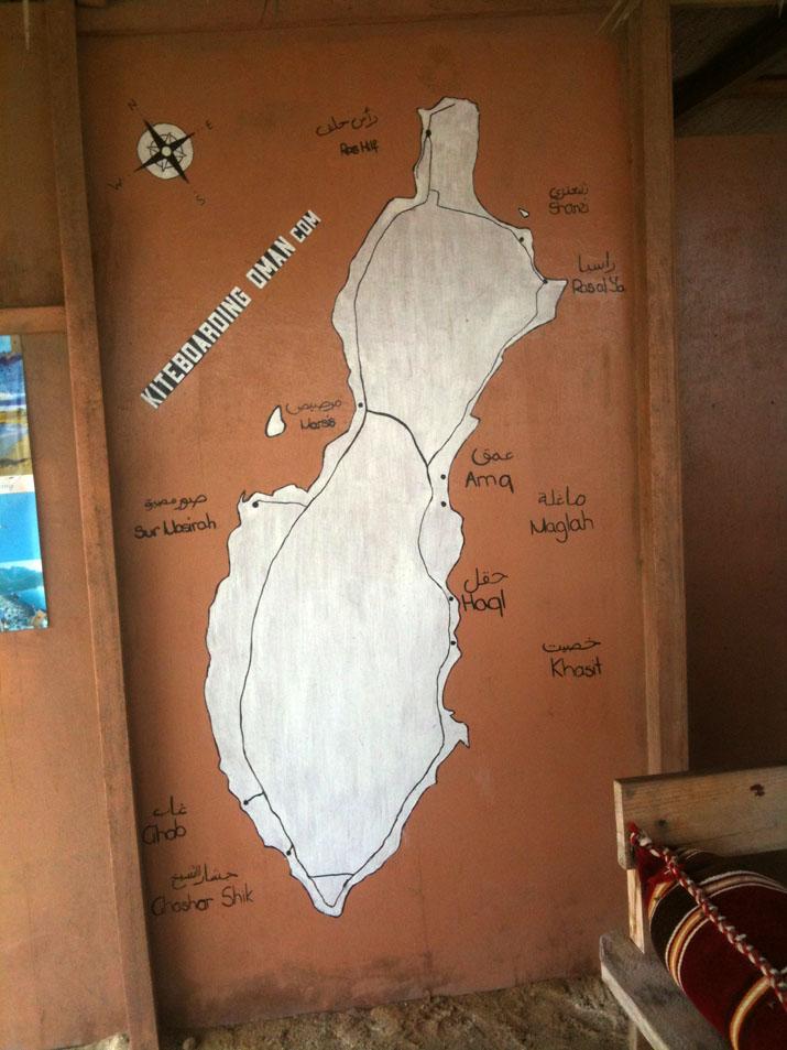 map masirah